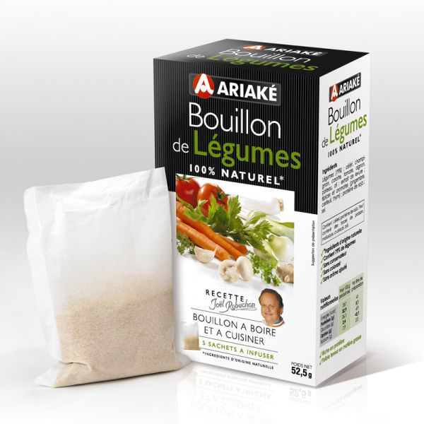 ARIAKE, Vegetables bouillons to infuse, 5 sachets