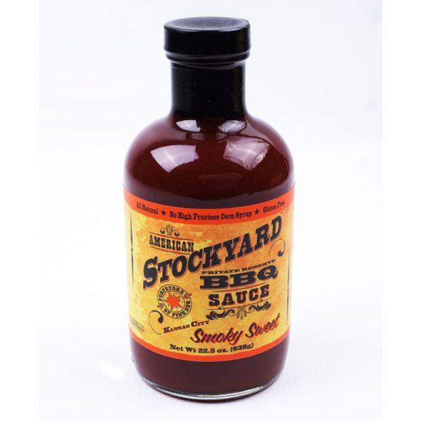 Sauce BBQ Stockyard smoky sweet Kansas city, 425 g