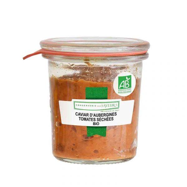Caviar d'aubergines aux tomates séchées BIO*