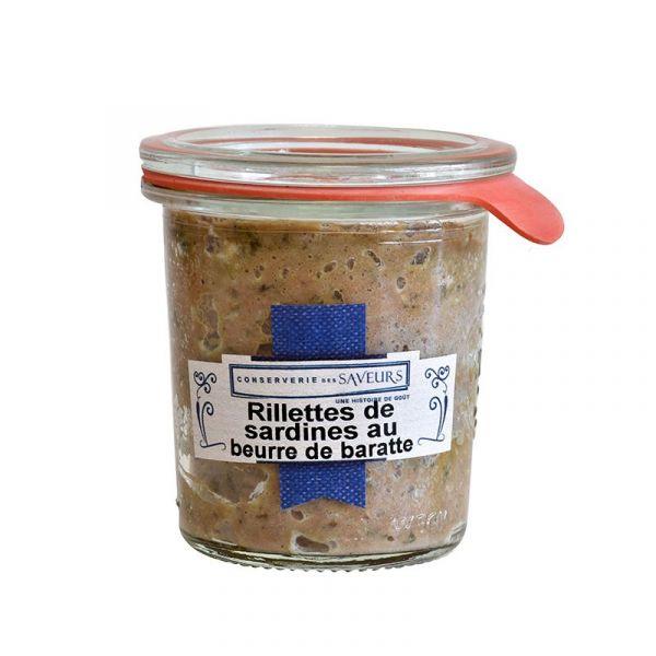 Rillettes de sardines au beurre de baratte