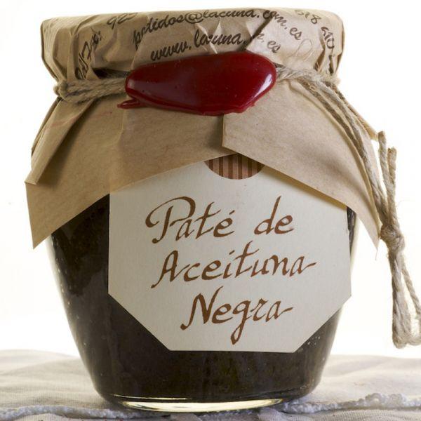 Olivade d'olives noires