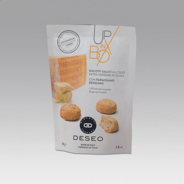 Biscuits apéritifs au parmesan
