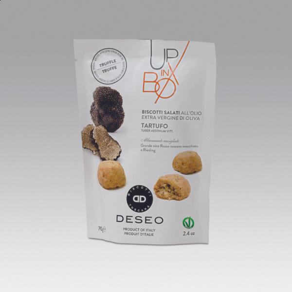 Biscuits apéritifs à la truffe,