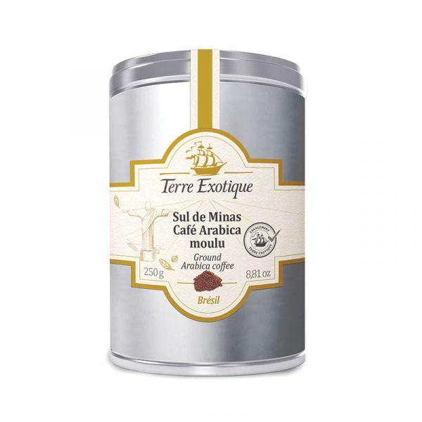 Sul de Minas, café Arabica moulu