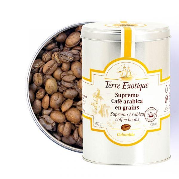 Supremo, café Arabica en grains