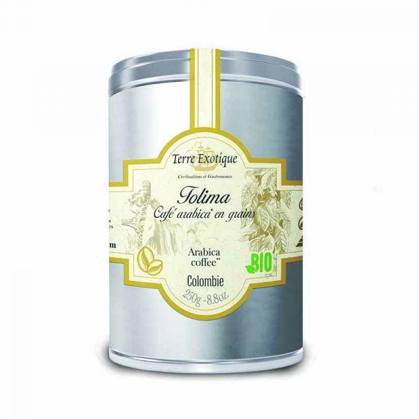 Tolima, café Arabica en grains