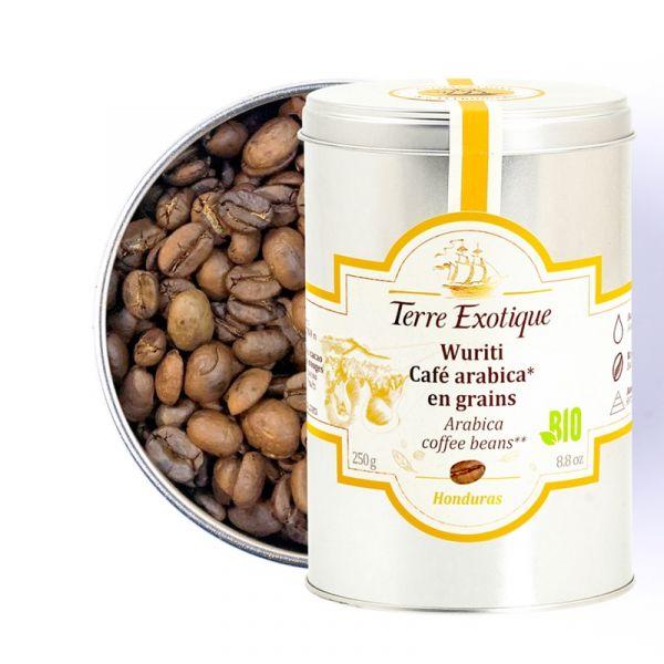 Wuriti, café Arabica en grains biologique