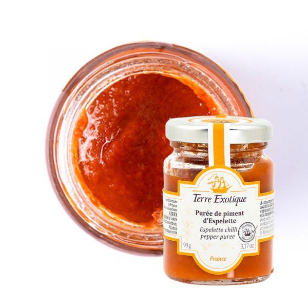Espelette chilli pepper puree, 90g
