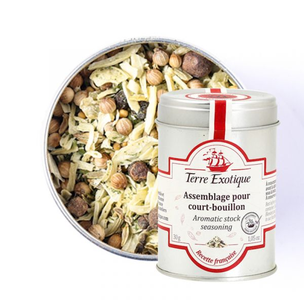 Easy-to-use spices: Court bouillon spice blend