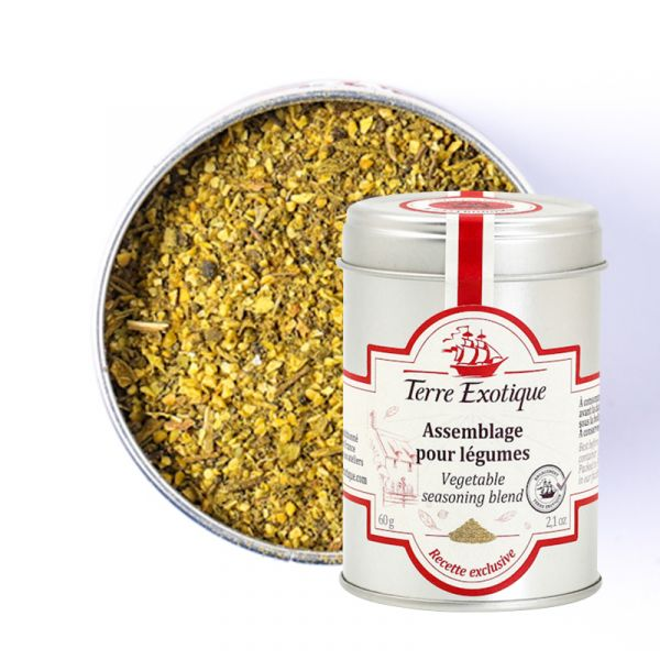 Easy-to-use spices: Vegetable spice blend, 70g