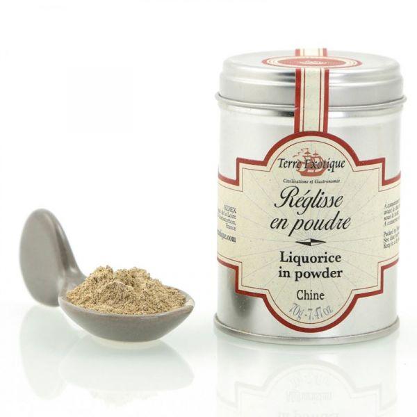 Liquorice in powder
