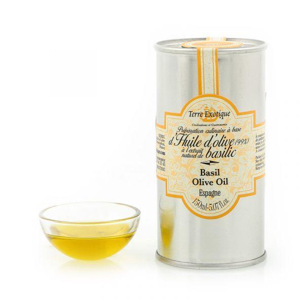 Basil flavoured olive oil 0.15L