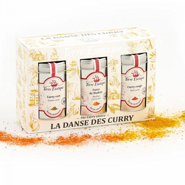 Coffret : danse des curry