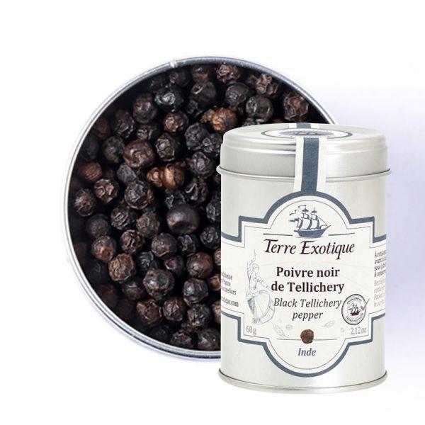 Black Tellicherry pepper, 70 g