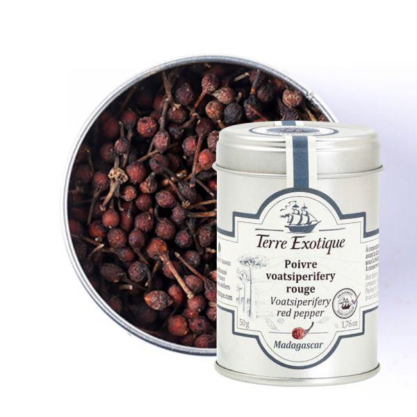 Red Voatsiperifery Pepper