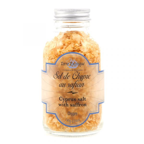 Cyprus Salt with Saffron