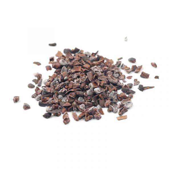 Cocoa bean chips