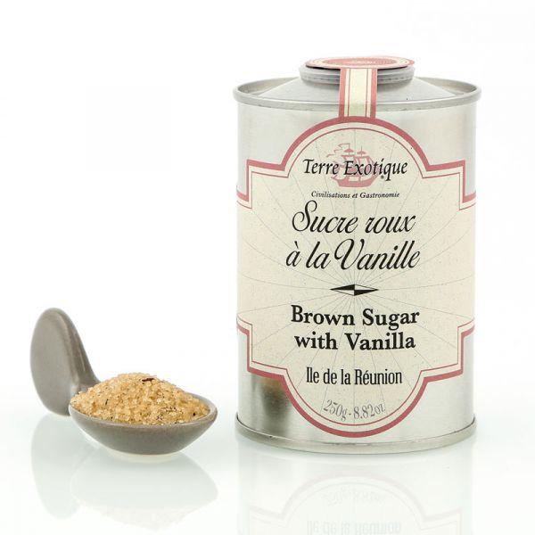 Brown cane sugar with Vanilla, 250 g