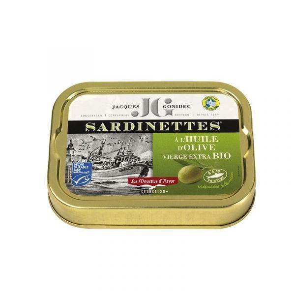 Sardinettes à l'huile d'olive