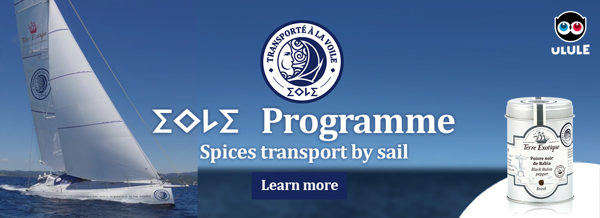 EOLE spices transport by sail - Terre Exotique