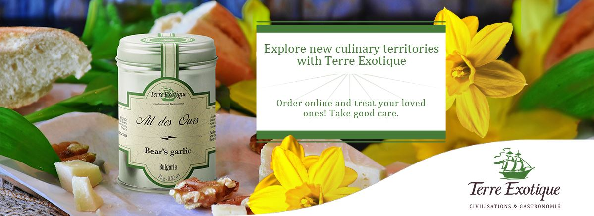 Explore new culinary territories - Terre Exotique